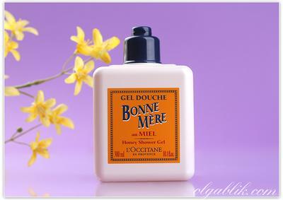 1. L'Occitane Bonne Mere Honey Shower Gel