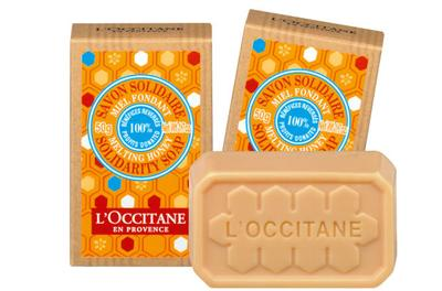 4. L'Occitane Shea Melting Honey Solidarity Soap