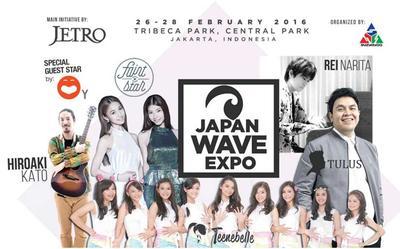 JAPAN WAVE EXPO 2016 : Festival Fashion, Musik, dan Makanan Tradisional Khas Jepang