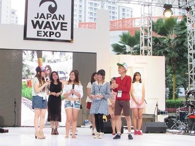 Berbagi Tips Seputar Beauty & Fashion di Japan Wave Expo 2016