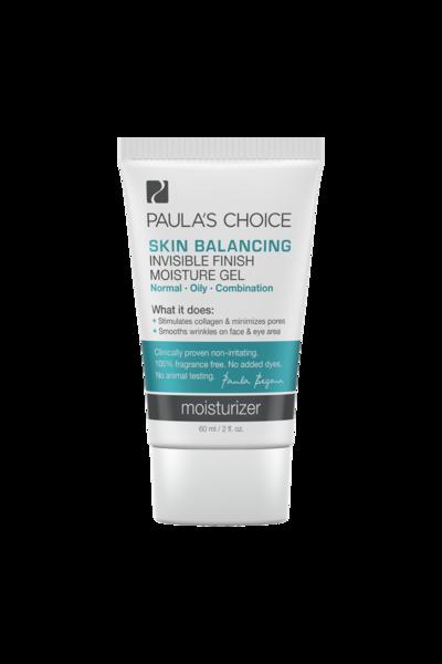 1. Paula's Choice (Skin Balancing Invisible Finish Moisture Gel)