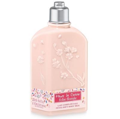 3. Cherry Blossom Folie Florale Petal-Soft Body Milk - L'Occitane En Provence