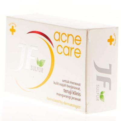 Basmi Jerawat Dengan Sabun JF Sulfur Acne Care