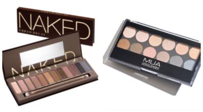 Pilih Mana: Smokey Eyes ala Urban Decay Naked Palette VS MUA Undressed Palette