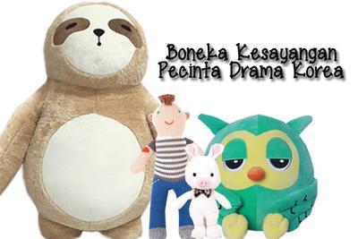 Boneka yang Menjadi Fenomenal Berkat Drama Korea (Bagian 1)