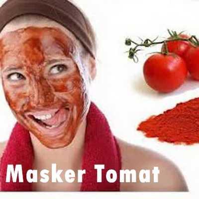 Menggunakan Masker Tomat