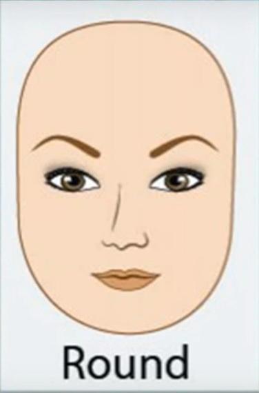2. Wajah Bulat