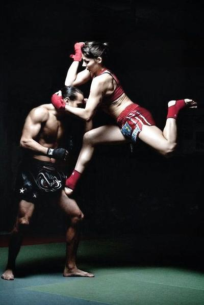 Muay Thai Efektif Turunkan Berat Badan