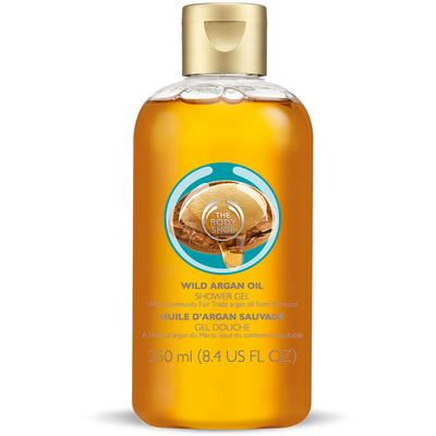 1. The Body Shop Wild Argan Oil Shower Gel