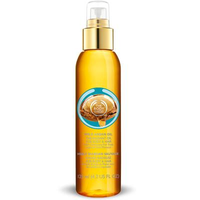 3. The Body Shop Wild Argan Oil The Radiant Oil