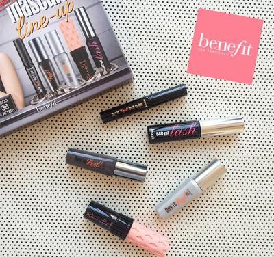 Benefit Most-Wanted Mascara Line-Up, Paket Lengkap Untuk Maksimalkan Eye Makeup