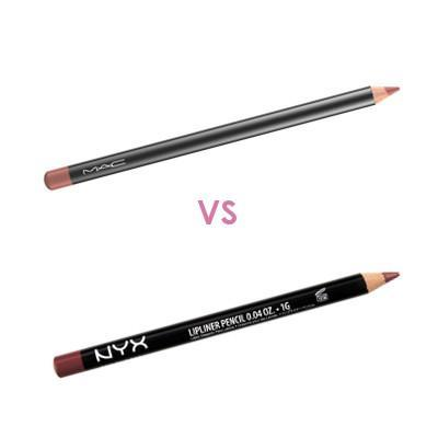 Pilih Mana: MAC Lip Pencil VS NYX Slim Lip Pencil