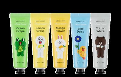 3. MISSHA (Line Friends Edition) Love Secret Hand Cream
