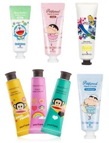 Berbagai Hand Cream Asal Korea yang Berkolaborasi Dengan Karakter Kartun yang Lucu (Bagian 2)