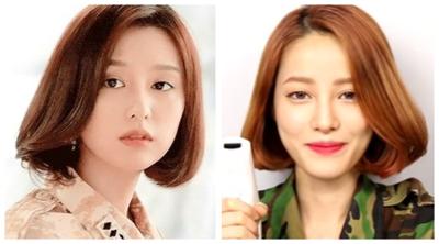 Tutorial Styling Rambut Bob ala Kim Ji Won di Drama Descendant of the Sun