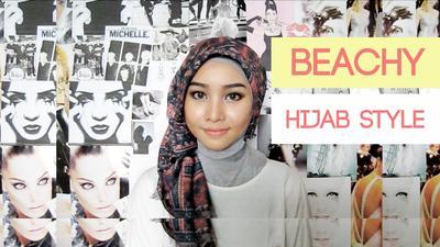 Ini Dia Tutorial Hijab ke Pantai untuk Tampil Stylish!