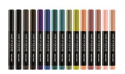 Make Up For Ever Luncurkan Produk Eyeshadow Seri Aqua Collection