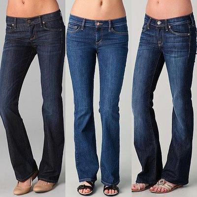 4.	Boot Cut Jeans