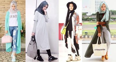 Mix & Match Hijab Fashion ala Blogger