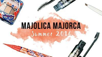 Majolica Majorca: Koleksi Produk Makeup Terbaru Musim Panas 2016