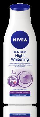 3. Nivea Body Lotion Night Whitening