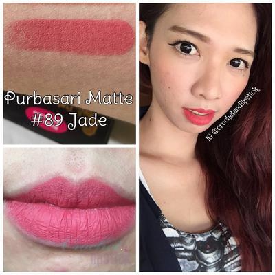 Purbasari Lipstik Matte Jade (No. 89)