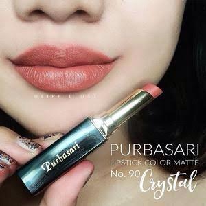 Purbasari Lipstik Matte Crystal (No. 90)