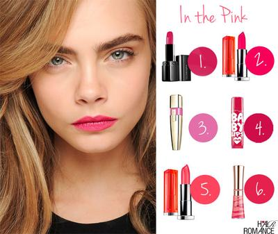 Red or Pink Lips