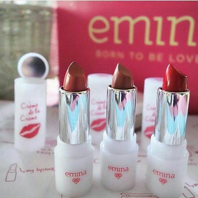 2. Emina Oh So Kissable Lipstick