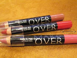 3. Make Over Lip Color Pencil