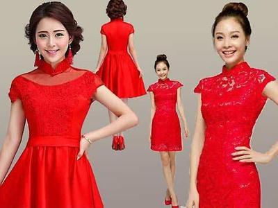 Tampil Elegan Dengan Gaun Merah Di Segala Suasana Fashion