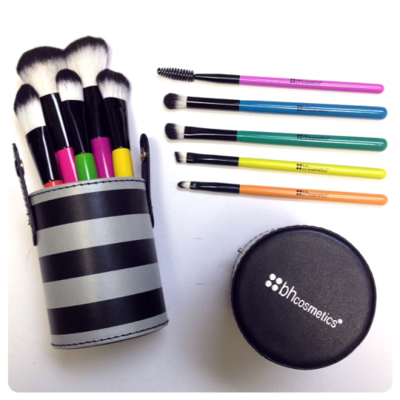3. BH Cosmetics 10Pc Pop Art Brush Set