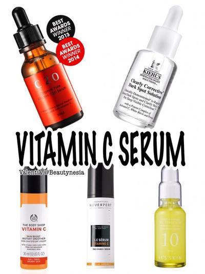 Gunakan Produk dengan Vitamin C