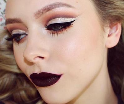 Cut Crease Glitter, Tren Makeup yang Kian Populer di 2016
