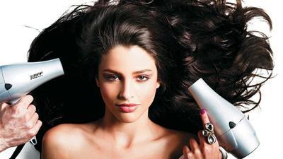 5. Blow Dry Rambut Secara Menyeluruh