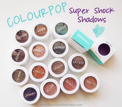 Pilihan Glitter Eyeshadow dari ColourPop untuk Dramatic Look