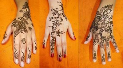 Percantik Tangan Mu Dengan Inspirasi Desain Henna Berikut