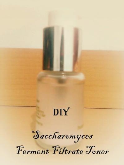 Cara Buat DIY Saccharomyces Ferment Filtrate Toner ala SK-II