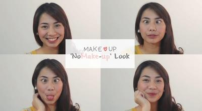 "Tutorial Makeup ""No Makeup Look"" ala Abel Cantika"