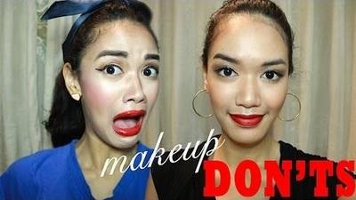 7 Makeup Don'ts ala Beauty Blogger Dhana Xaviera