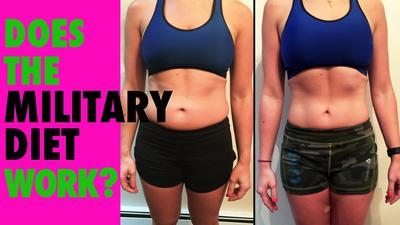 Diet Militer, Metode Diet Selama 3 hari Dalam Seminggu