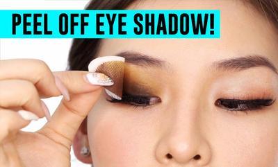 Dengan Peel Off Eyeshadow Matamu Akan Berubah Jadi Indah dalam Sekian Detik!