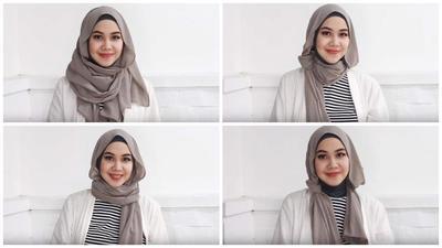 Tutorial 4 Gaya Hijab Casual untuk Tampilan Sehari-hari