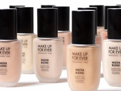 Water Blend, Foundation Waterproof  dari Make Up For Ever yang Tahan Lama dan Natural
