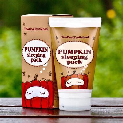 5. Too Cool For School Pumpkin Sleeping Pack