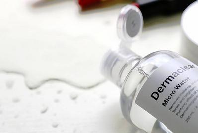 Bersihkan Wajah dengan Nano Cleansing dari Cleansing Water No.1 Korea