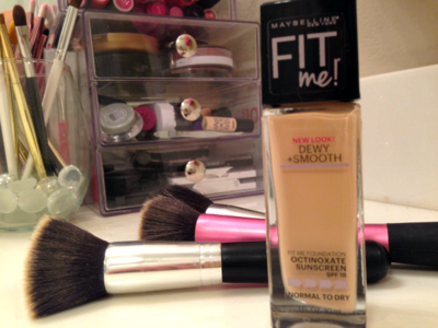2. Maybelline Fit Me Dewy + Smooth Foundation