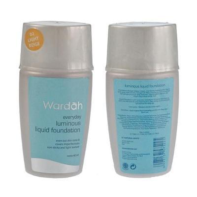 Wardah Luminous Liquid Foundation