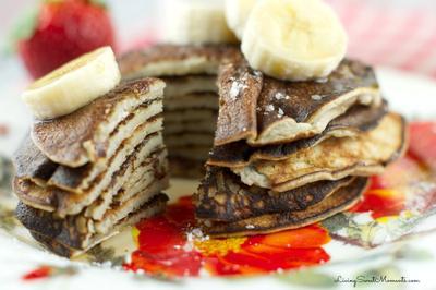 Cukup 5 Menit: 1 Pisang + 2 Telur = Banana Pancake!
