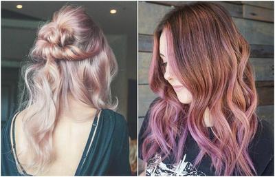 Tampil Kekinian Dengan 6 Inspirasi Rose Gold Hair